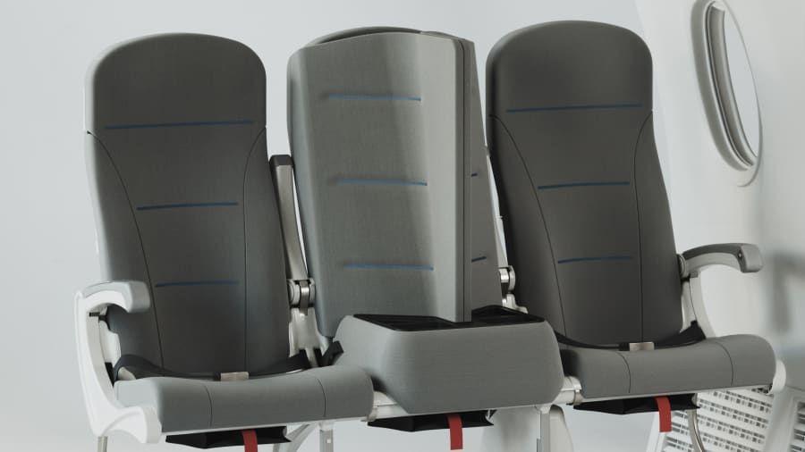 Kursi pesawat Interspace Lite
