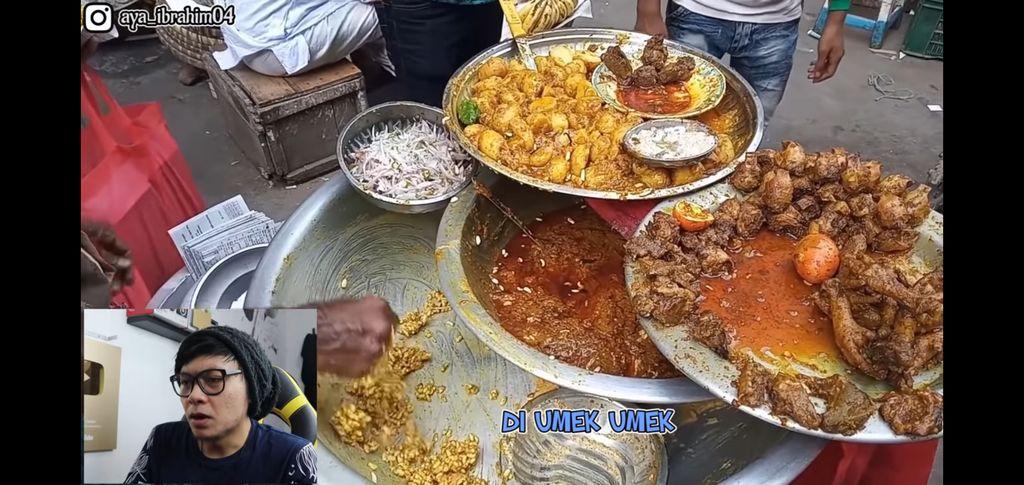 makanan india jorok