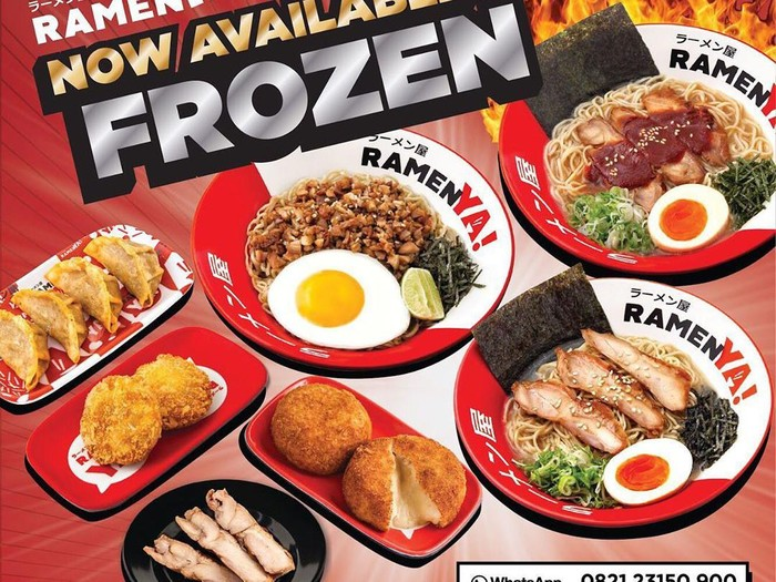 menu frozen resto jepang