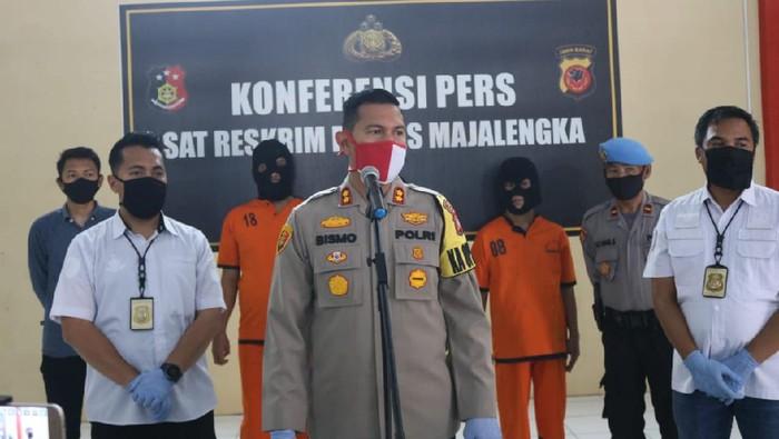Polisi Majalengka lumpuhkan komplotan curanmor lintas daerah
