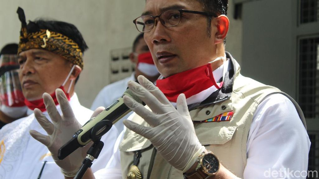 Muncul Klaster Secapa AD, Ridwan Kamil Minta Warga Tak Panik