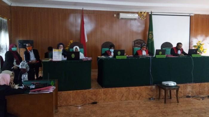 Suasana di PN Palembang (Raja Adil-detikcom)