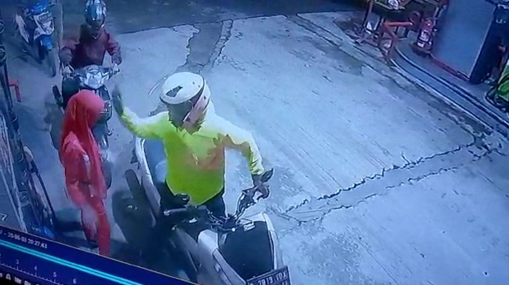 Biker yang Tampar Pegawai Perempuan SPBU di Padalarang Diamankan Lalu Dilepas