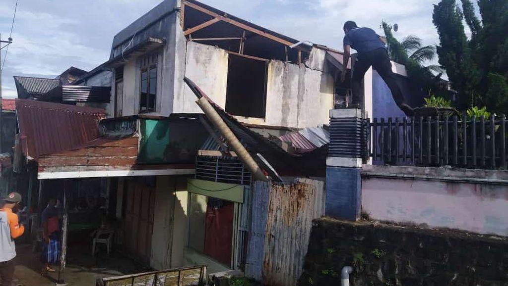 Belasan Bangunan di Sabang Aceh Rusak Akibat Gempa