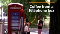 Coffee Shop Terkecil di Inggris Ini Ada dalam Kotak Telepon Umum