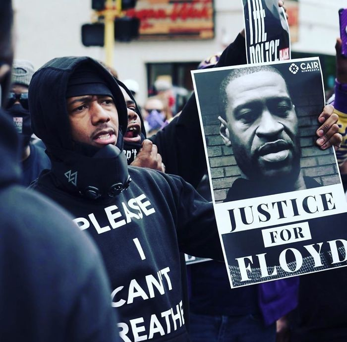 Untuk mendukung solidaritas, sederet seleb dunia ikut bergabung dalam aksi protes di Amerika dampak kematian  George Floyd.