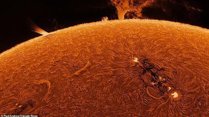foto matahari detail