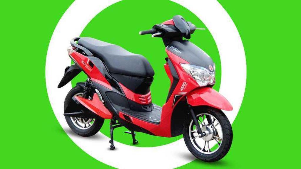 Honda Tuntut Hero Electric karena Dianggap Curi Desain Skuter