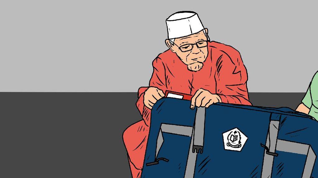 Batal Naik Haji, Calon Jemaah Haji Tunisia Sumbangkan Uangnya