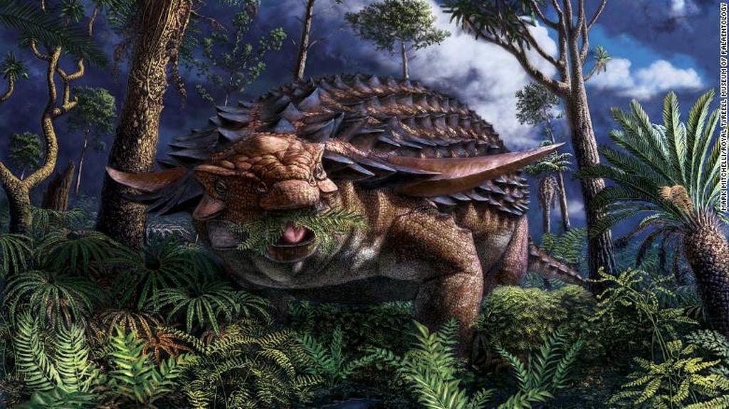 Isi Perut Dinosaurus Berusia 110 Juta Tahun Terungkap