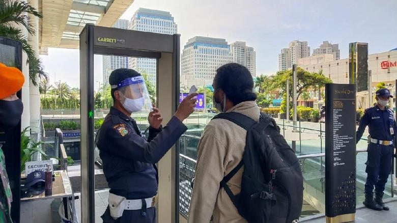 Kesiapan Mal di Jakarta Jelang New Normal