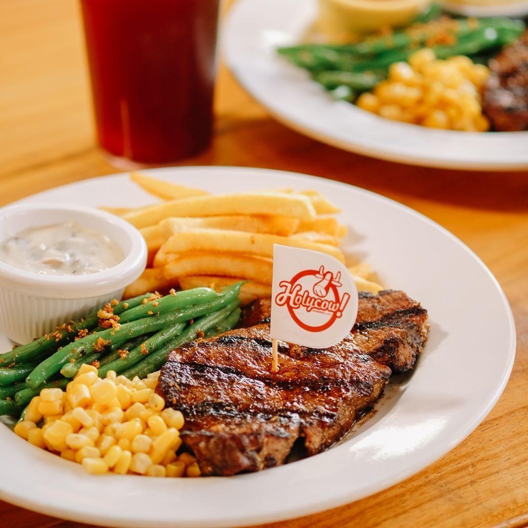 Makan steak di rumah saja