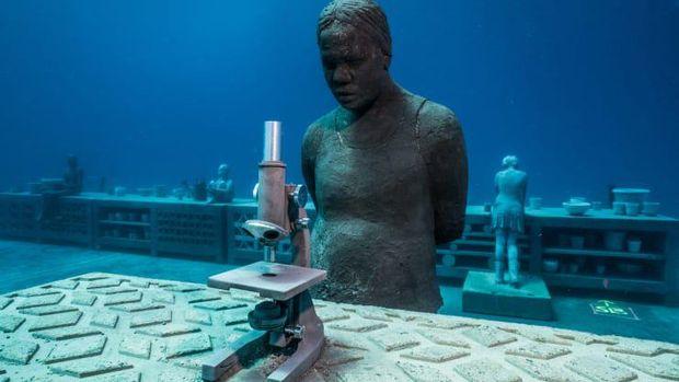 Museum bawah laut di Australia.