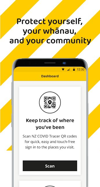 NZ COVID Tracer (Ministry of Health NZ/Google Play)