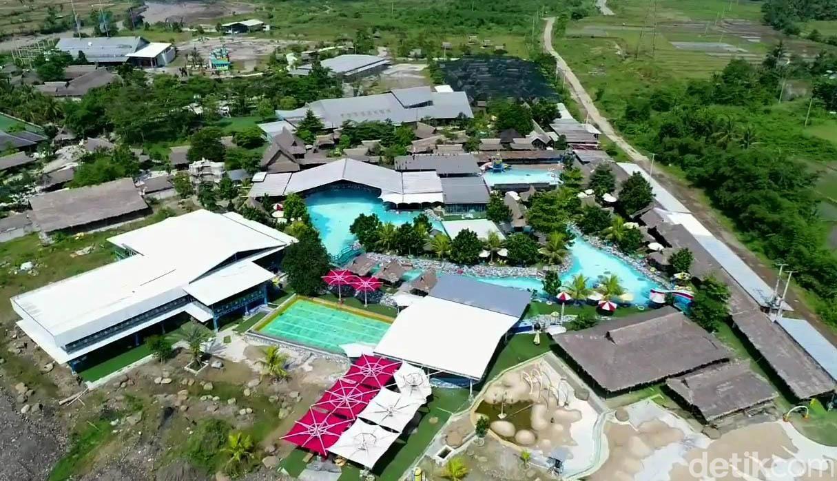 Tempat wisata Cikao Park, Purwakarta, bersiap melaksanakan rencana penerapan new normal. Sejumlah protokol kesehatan pun mulai diterapkan di tempat wisata itu.