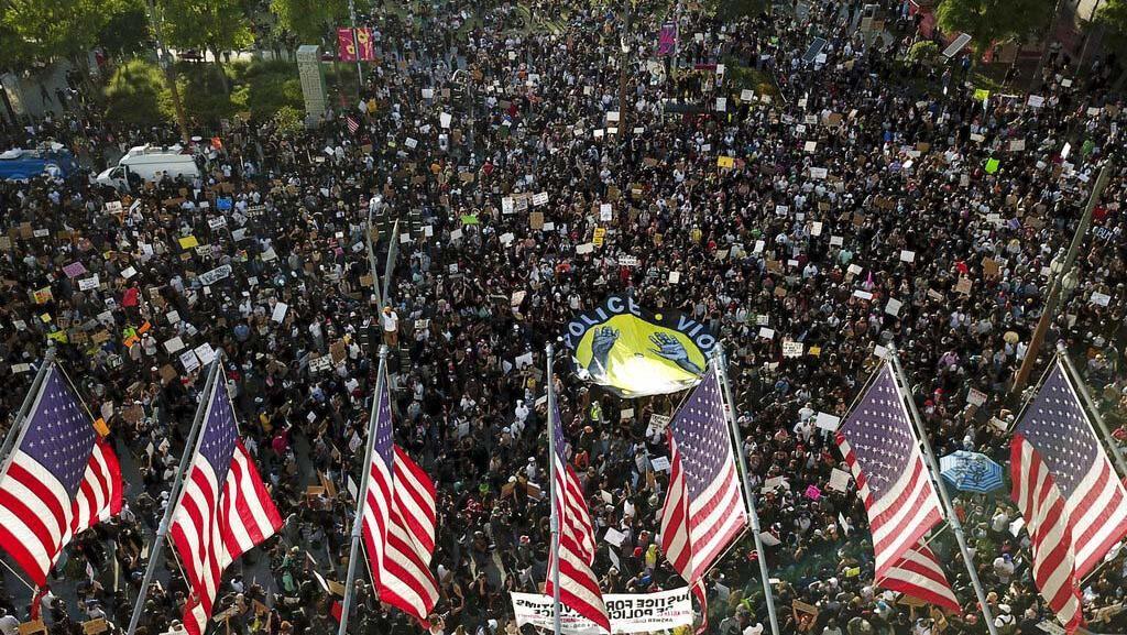 Para Demonstran George Floyd di AS Diserukan untuk Tes Corona