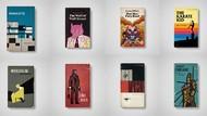 Deretan Film Kelas Dunia Diubah Jadi Sampul Buku Jadul