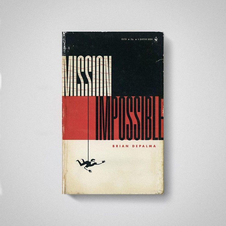 Pernahkah terbayang bagaimana jadinya bila film seperti Parasite hingga Interstellar ditransformasikan sebagai sampul buku tua? Begini penampakannya.