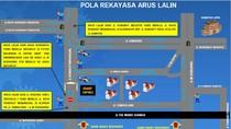 Jalan Rungkut Menanggal Surabaya Ditutup Sementara Tekan Penyebaran Corona