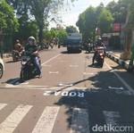 Sensasi Start Balapan MotoGP di Lampu Merah Tuban