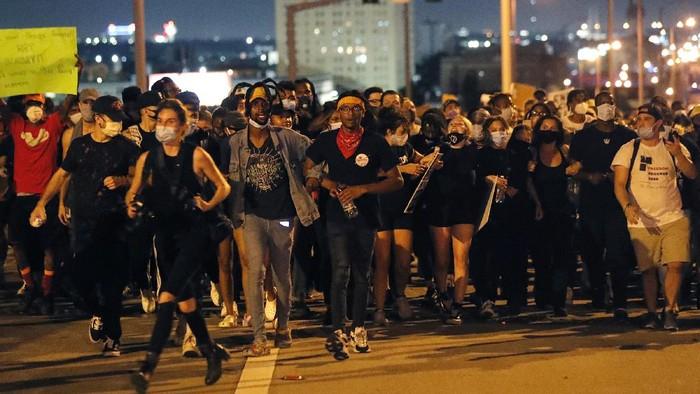 Lebih dari 10 ribu orang ditangkap dalam aksi unjuk rasa yang digelar di berbagai wilayah Amerika Serikat (AS).