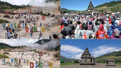 Foto Before-After Dataran Tinggi Dieng yang Ditutup Imbas Corona