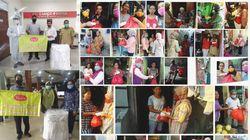 Samco Farma Bagikan Bantuan untuk Warga Terdampak dan Tenaga Medis