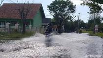 Ribuan KK Terdampak Banjir Rob di Kota Pekalongan
