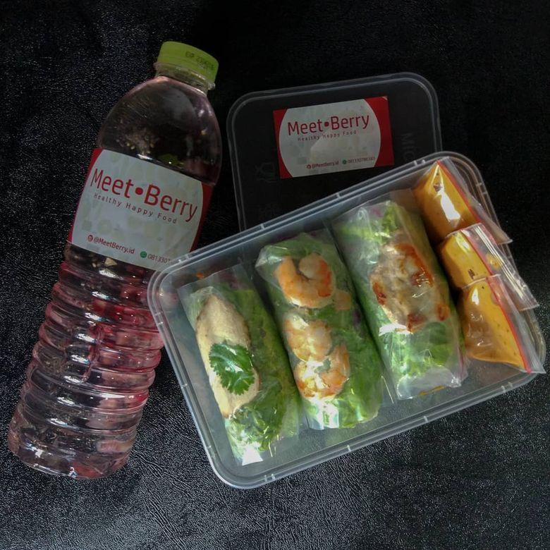 Salad sayur dan buah
