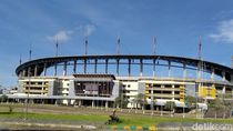 Kemegahan Stadion Palaran Kini Tinggal Kenangan