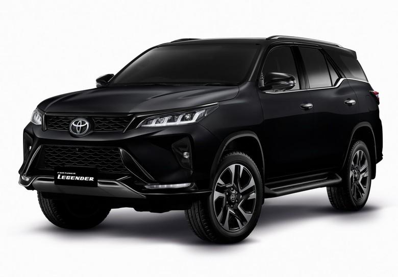 Toyota Fortuner dan Hilux generasi terbaru