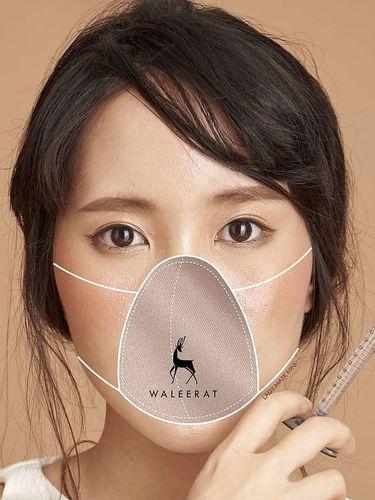 Klinik kecantikan di Bangkok ciptakan masker kain khusus untuk facial.