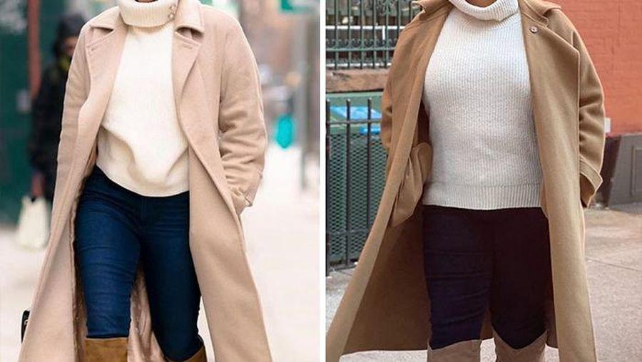 Wanita Berpakaian Seperti Selebritis, Tidak Perlu Menjadi Kurus Untuk Terlihat Bagus