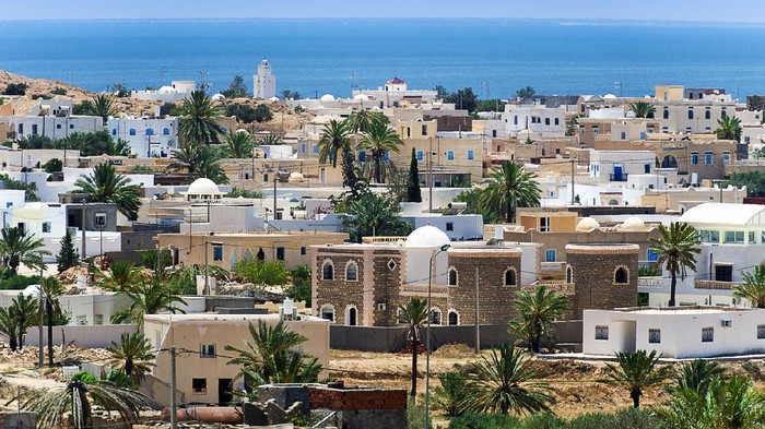 Tunisia. Djerba island. Guellala village