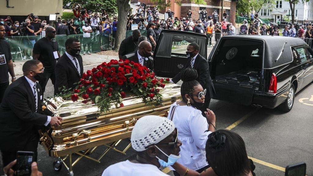 Pemakaman George Floyd Dihadiri Ratusan Pelayat