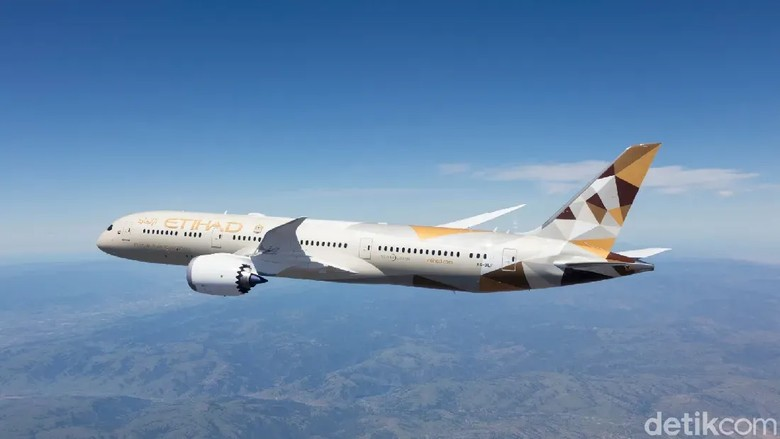 Boeing 787 Etihad Airways
