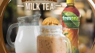 Weekend Bareng Keluarga, Enaknya Bikin Brownie Milk Tea yang Segar