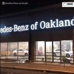 Dealer Mercedes-Benz jadi Sasaran Amuk Pendemo Kasus George Floyd