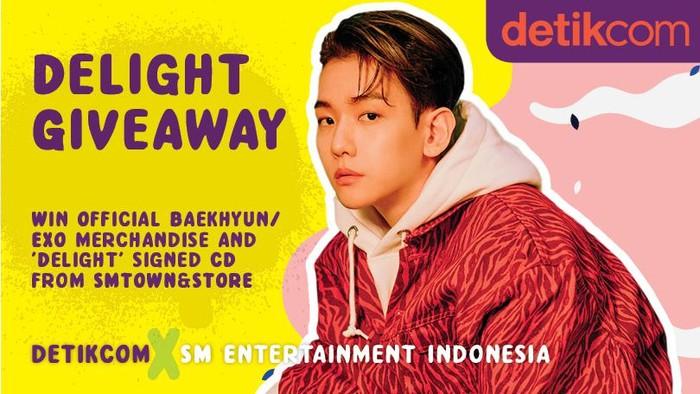 Giveaway detikHOT CD Bertanda Tangan Baekhyun EXO