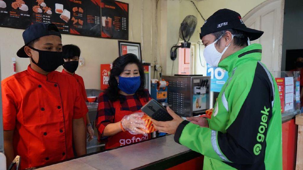 Adaptasi Pandemi, 100 Ribu UMKM Gojek Migrasi ke Bisnis Online