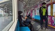 PSBB Transisi DKI Dimulai, Stasiun Sudirman dan Duri Lengang Sore Ini