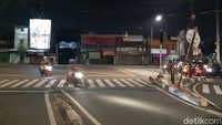 Hati-hati! Kabel Jatuh dari Tiang Melintang di Jl Ragunan-Pasar Minggu