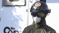 Helm pendeteksi suhu tubuh jadi salah satu alat yang marak digunakan di masa pandemi virus Corona. Pasalnya helm itu dapat membantu deteksi awal COVID-19.