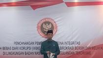 Boy Rafli Canangkan Zona Integritas Bebas Korupsi di BNPT