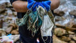 Imbas Corona, Masker Bekas Berserakan di Pantai-pantai Hong Kong