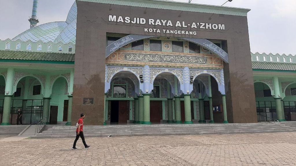 Salat Jumat di Masjid Raya Al Azhom Tangerang Akan Dimulai 12 Juni
