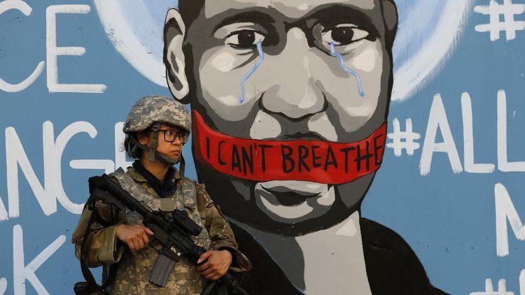 Mural George Floyd Hiasi Berbagai Negara di Dunia