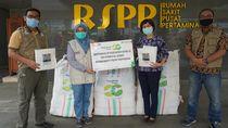 Bantu Atasi COVID-19, Pegadaian Berikan 500 Surgical Gown ke RSPP