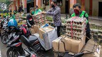 Wali Kota Bogor Cek Distribusi Bansos dari Pemprov Jabar