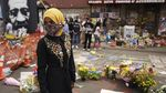 Politisi Muslim AS Ilhan Omar Hadiri Upacara Pemakaman George Floyd